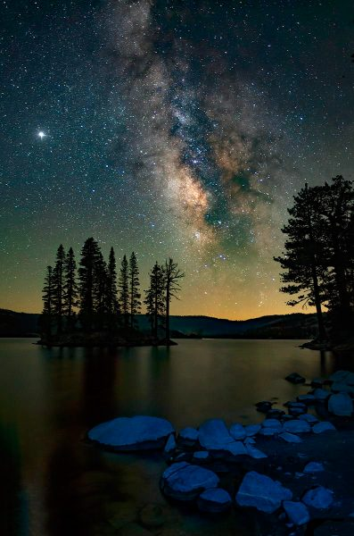 Silver Lake Milky Way - Truman Holtzclaw