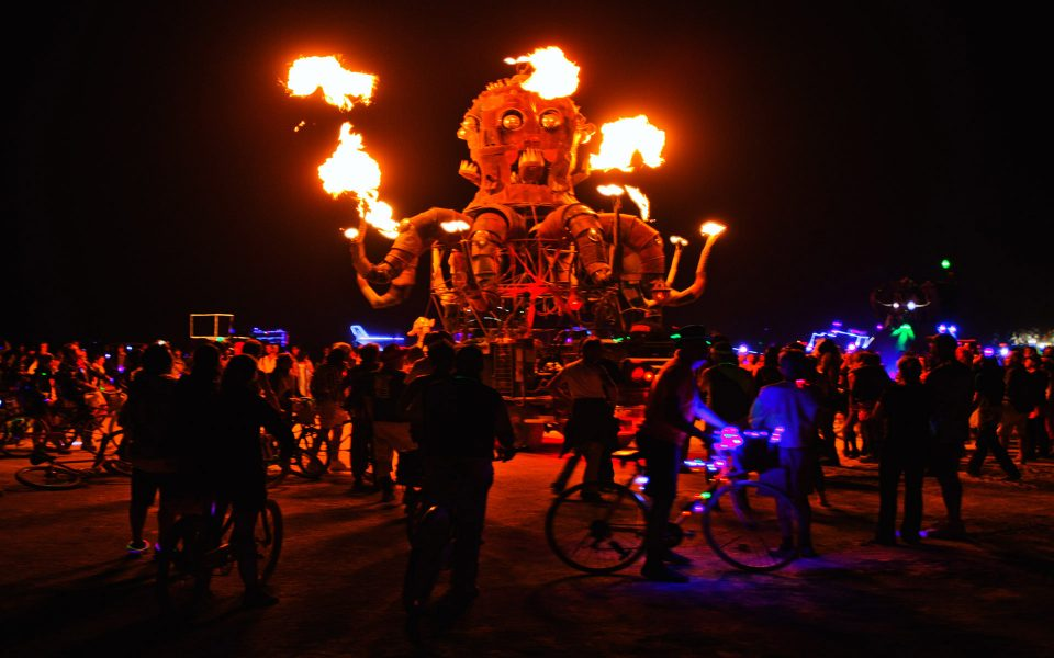 The Burning Man Sequence 07 - Truman Holtzclaw