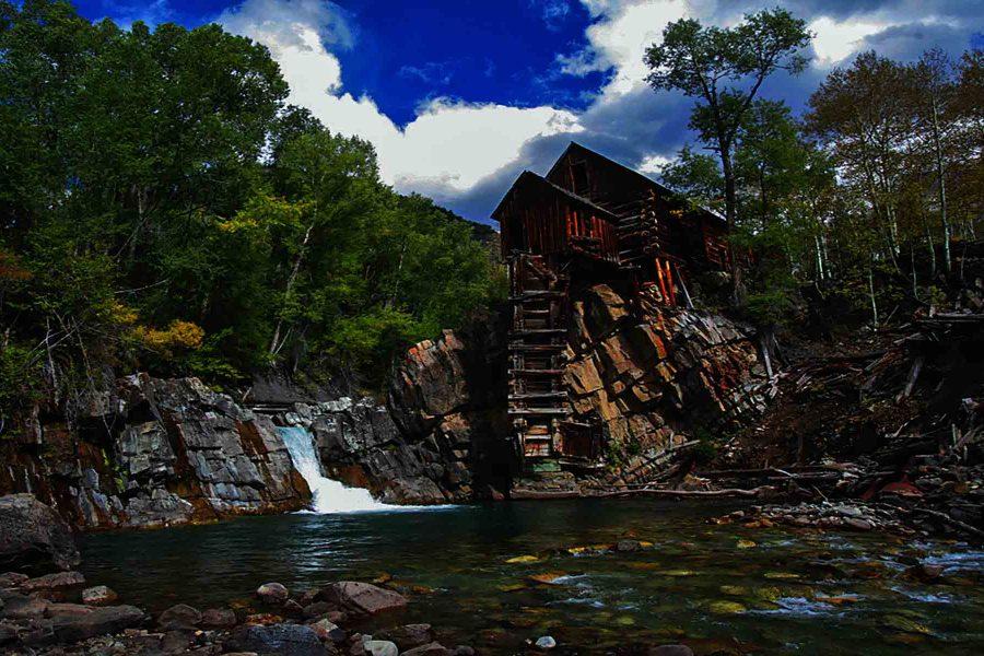 Crystal Mill Power House - Truman Holtzclaw