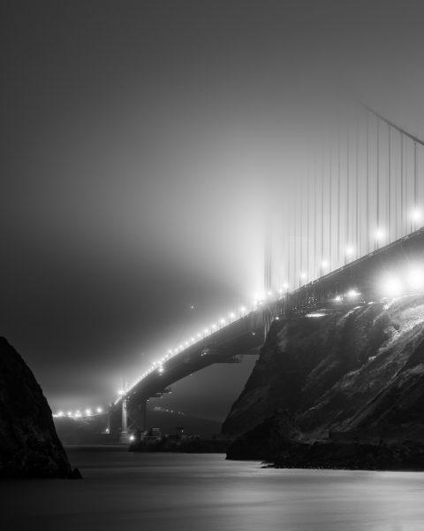 Under the Fog - Golden Gate Bridge, San Francisco - Takeshita Hayata
