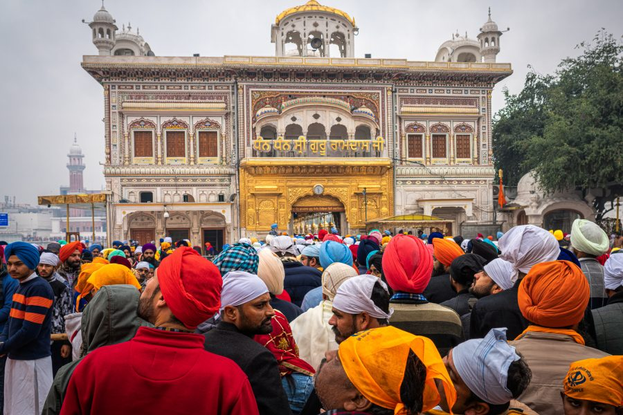 Entering the Golden Temple Amritsar India - Don Goldman