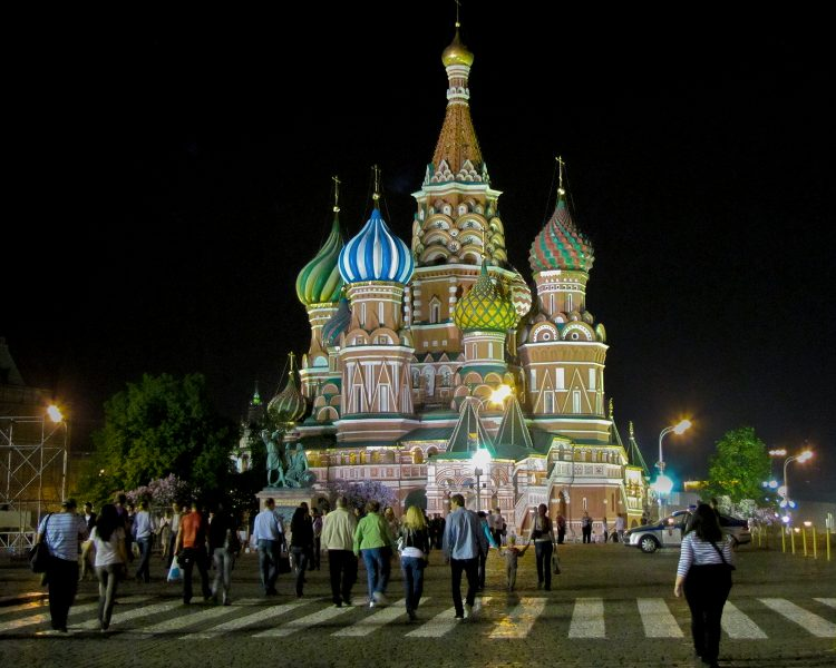 St. Basil's Cathedral - Red Square Moscow - Gary Cawood