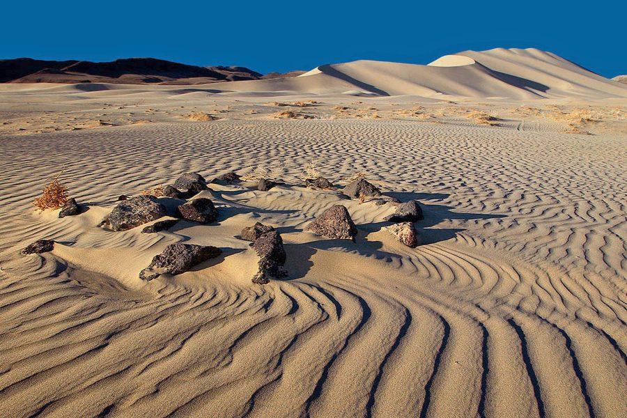 Rocks in the Sand Dunes - Julius Kovatch