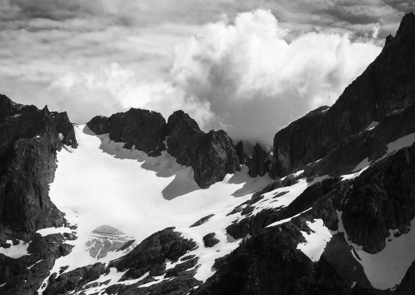 Sharp Edges and Soft Clouds in the Cascades - Aaron Vizzini