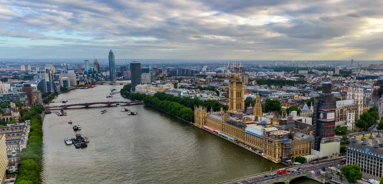 River Thames and Westminster from London Eye - Doug Arnold