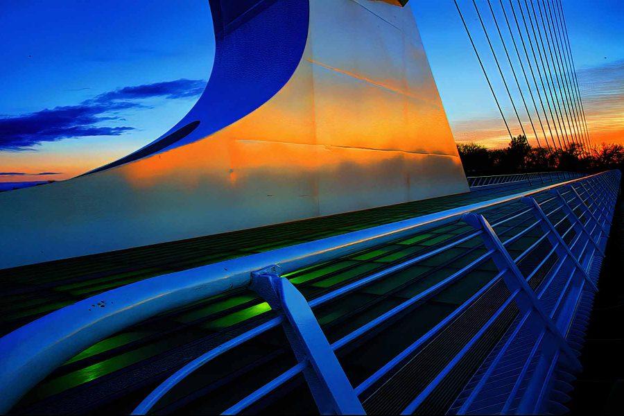 Sundial Bridge Redding - Truman Holtzclaw
