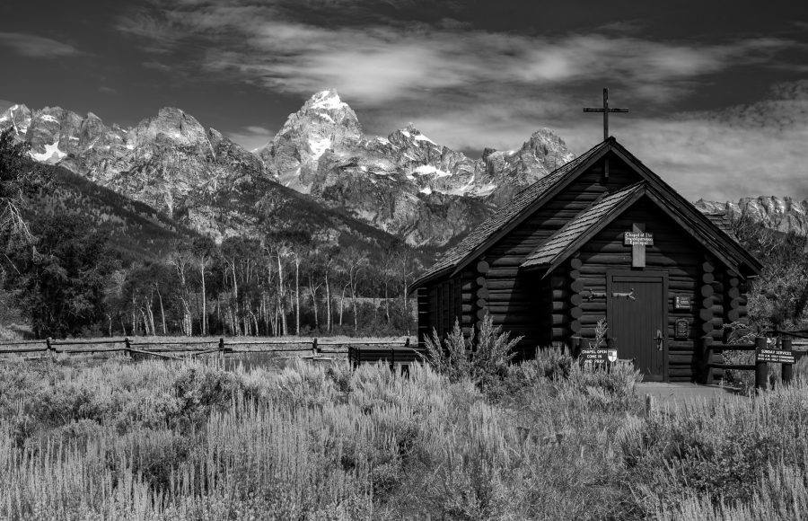 10 Honeycutt Pat Chapel in Grand Teton National Park