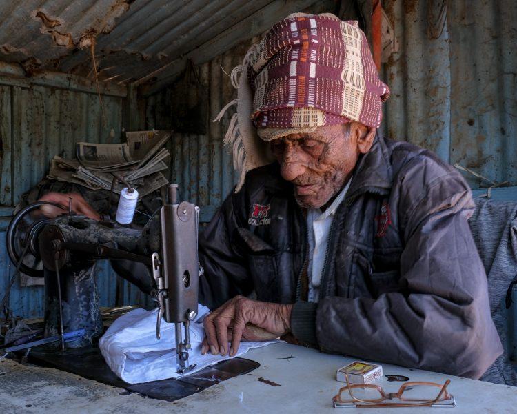 Tailor, Dasada, India - Theo Goodwin