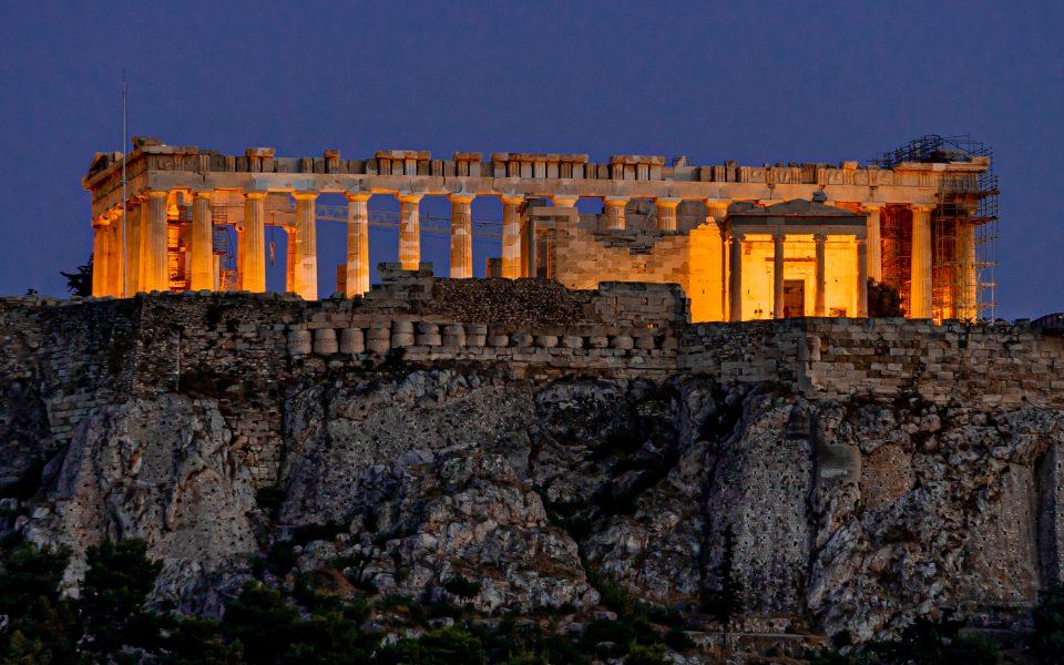Parthenon at Twilight - Jan Lightfoot