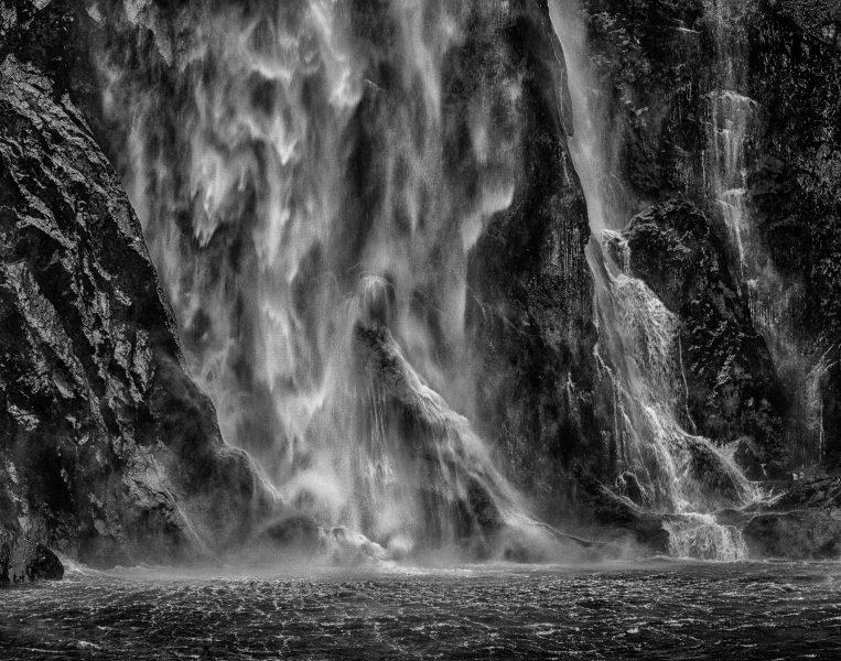 Waterfall, Milford Sound, New Zealand - Theo Goodwin