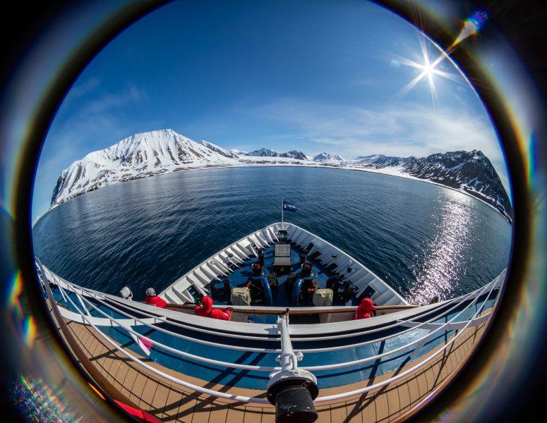Entering The Hornsund - Chuck Honeycutt