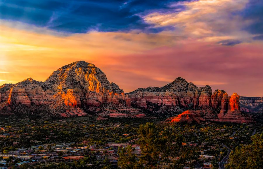 Sedona by Sunset - Lucille Vanommering