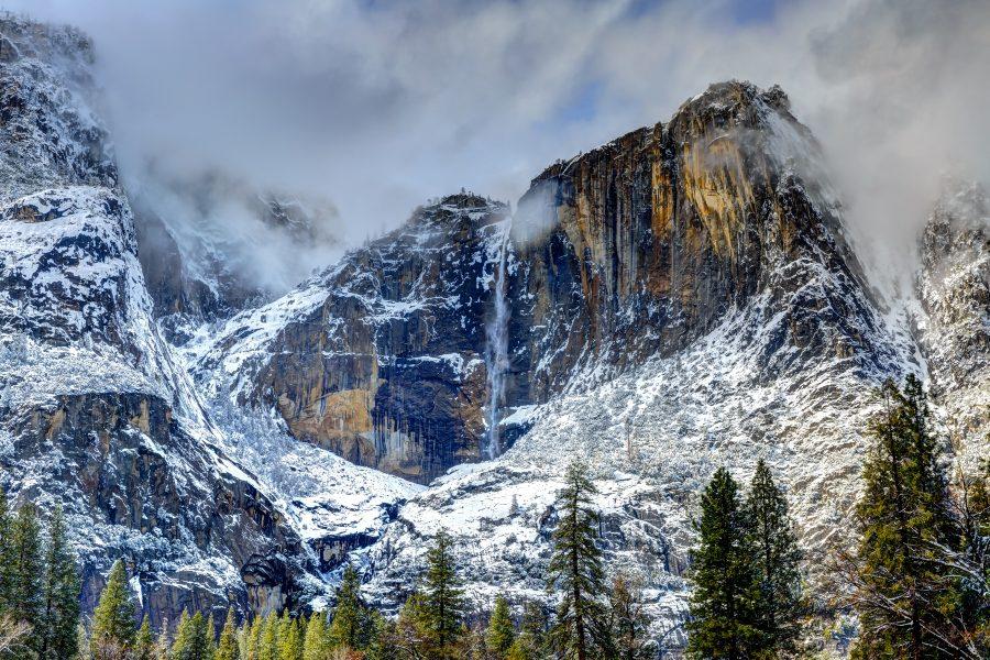 Yosemite Falls, Winter - Doug Arnold