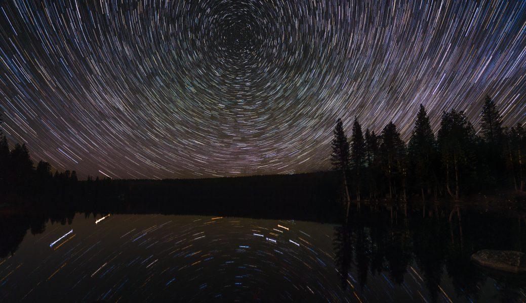 Star Trail Reflections - Don Goldman