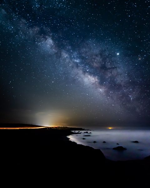 Coastal Milky Way - Hayata Takeshita