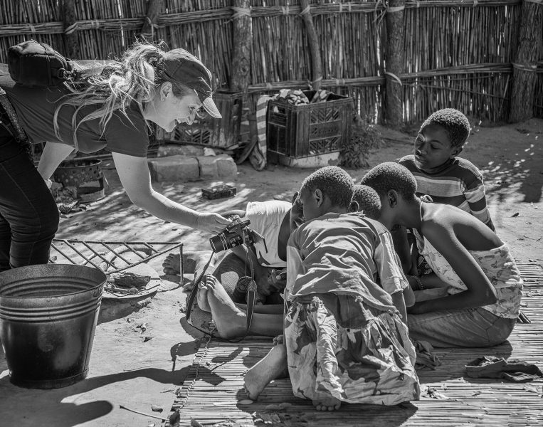 Seeing Themselves Chobe River Botswana - Pat Honeycutt