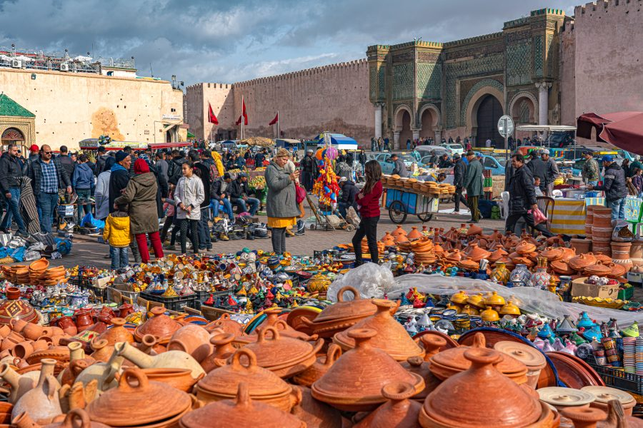 Meknes Market Morocco - Don Goldman