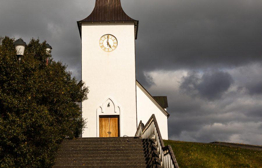 Borgarneskirkja Iceland - Art Jankowski