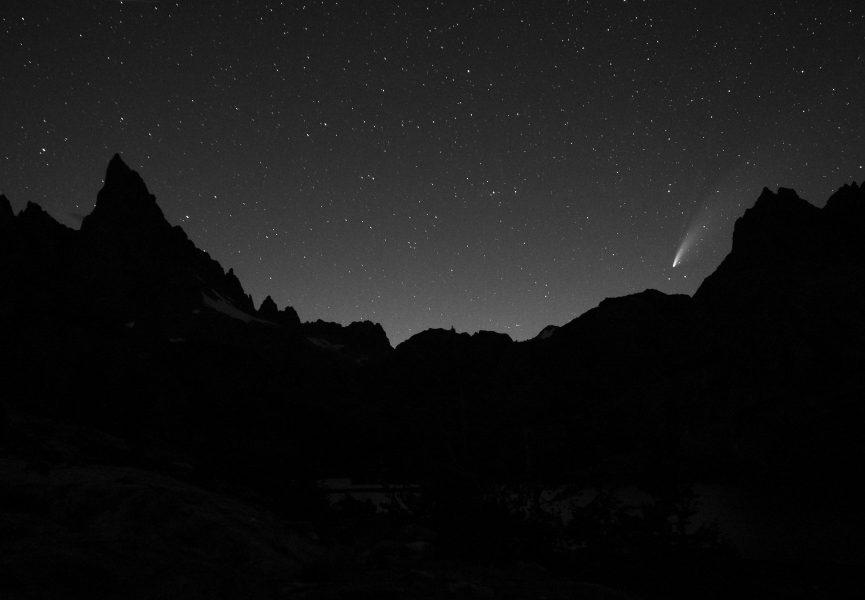 Comet Above the Minarets - Aaron Vizzini