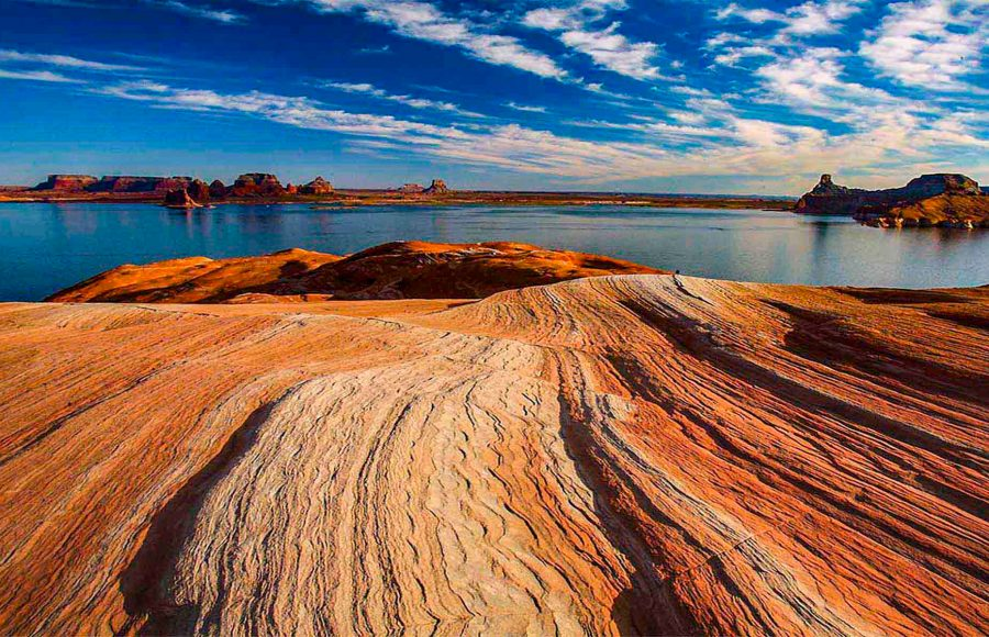 Lake Powell Lines - Truman Holtzclaw