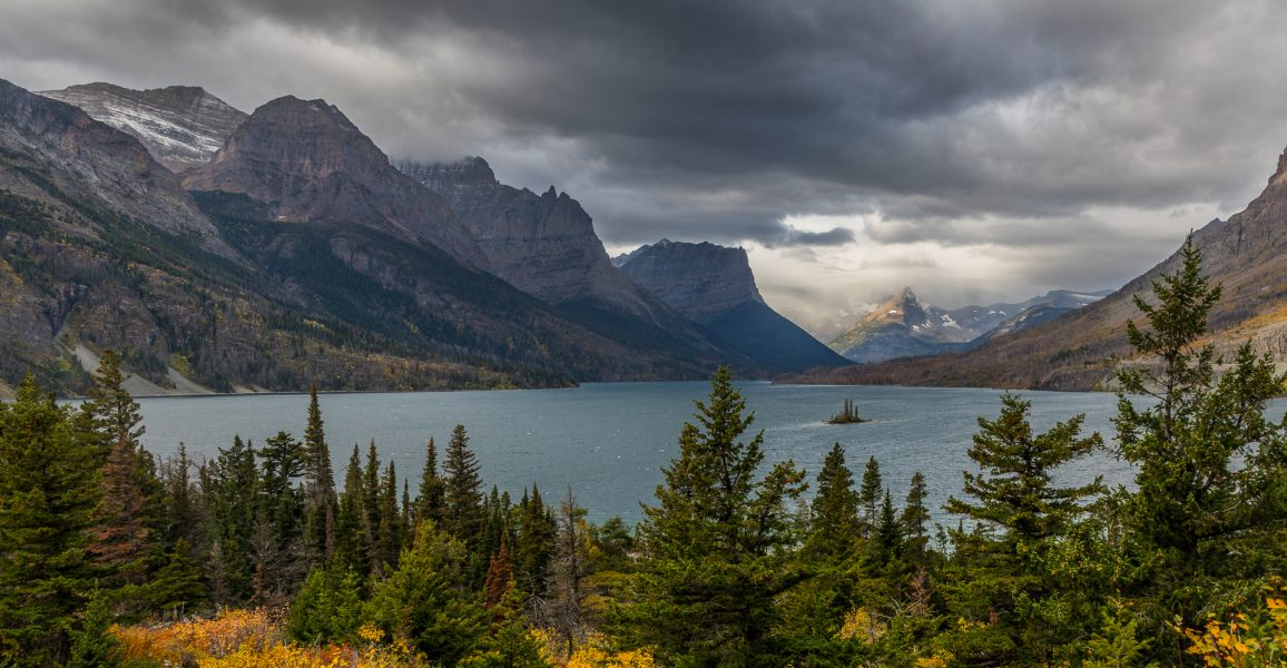 St. Mary Lake Glacier NP - Leonard James