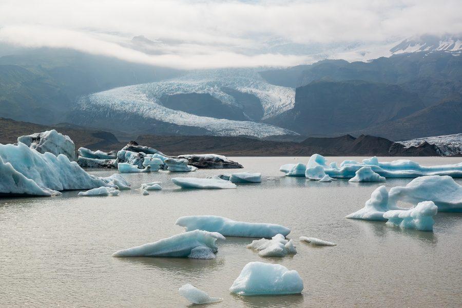 Vatnajokull Glacier and Iceberg Lagoon - Gert Van-Ommering
