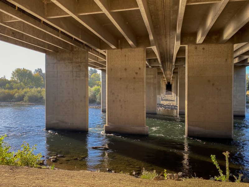 Under Watt Avenue Bridge 02 - Theo Goodwin