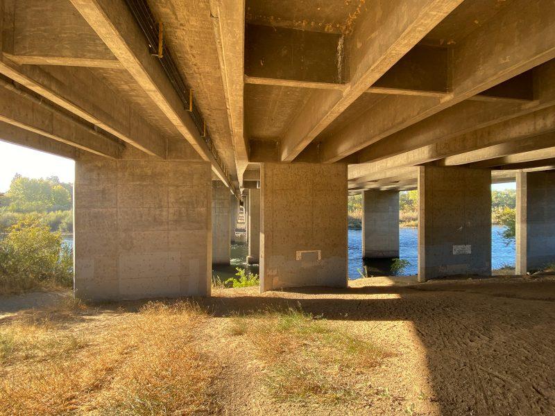 Under Watt Avenue Bridge 03 - Theo Goodwin