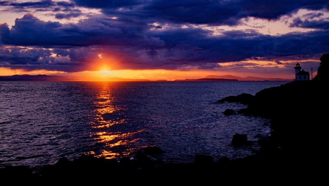 Sunset, San Juan Island, WA - Bob Benson