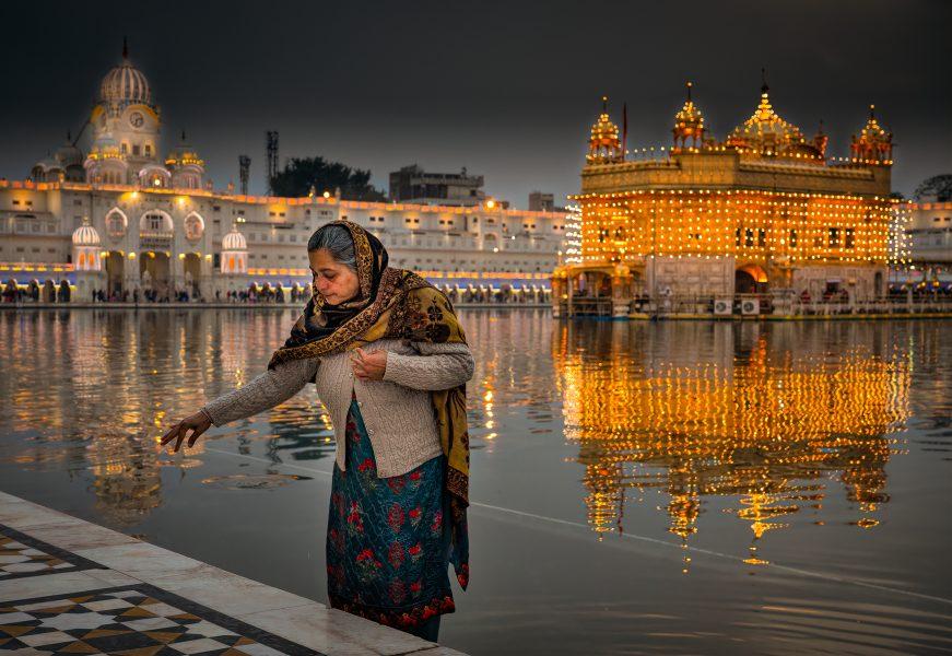 Evening at Golden Temple Amritsar India - Don Goldman