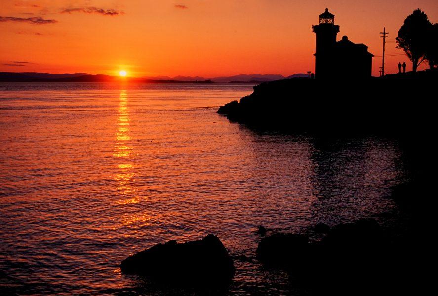 Sunset San Juan Island Wa - Robert Benson