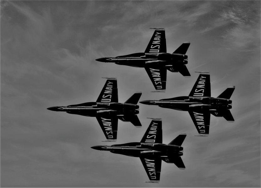Blue Angels Flying High - Laura Berard