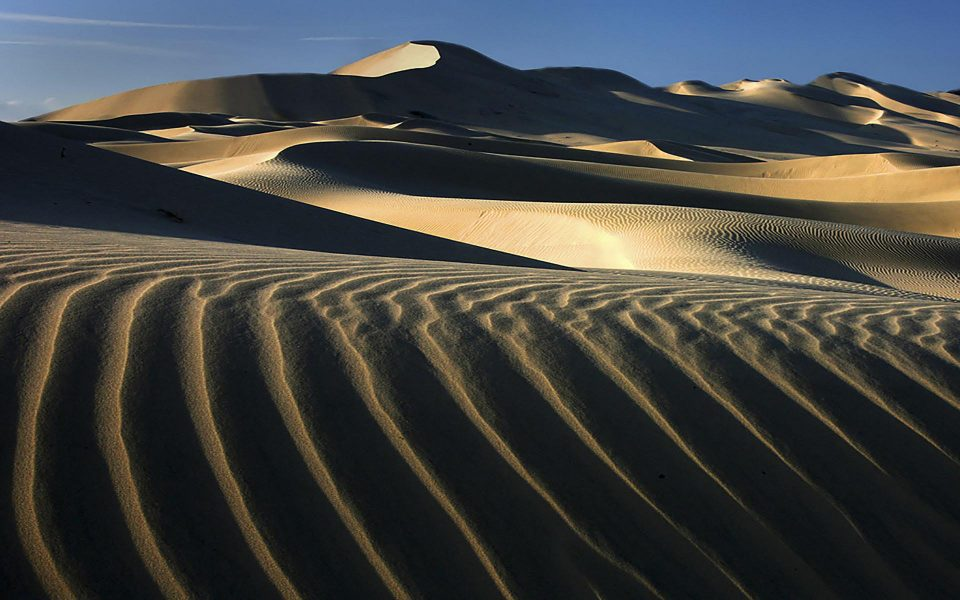 Eureka Dunes Patterns - Truman Holtzclaw