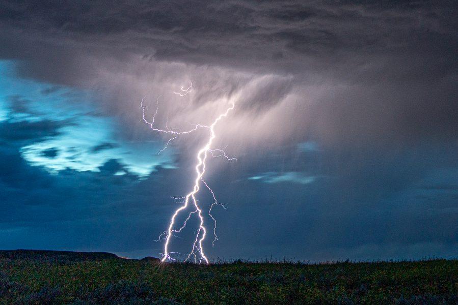 Montana Night Lightning - Don Goldman