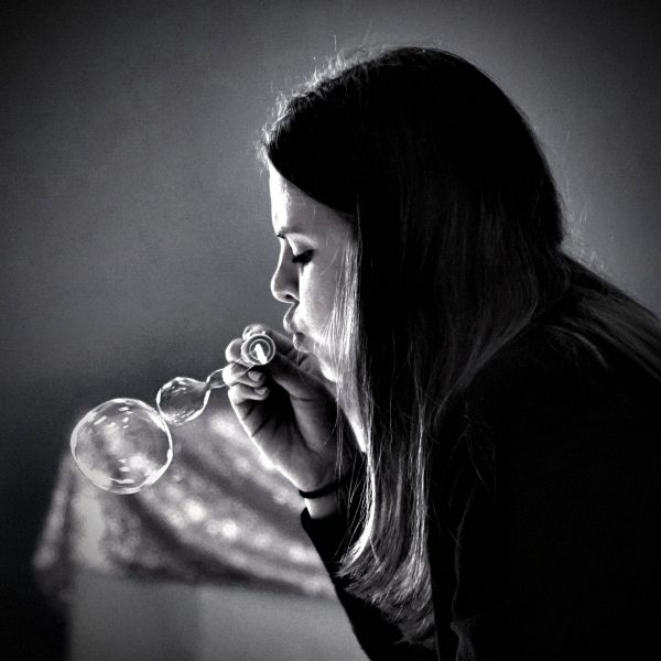 Blowing Bubbles - Jeanne Snyder