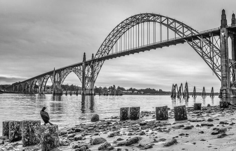 Newport Oregon Bridge - Pat Honeycutt