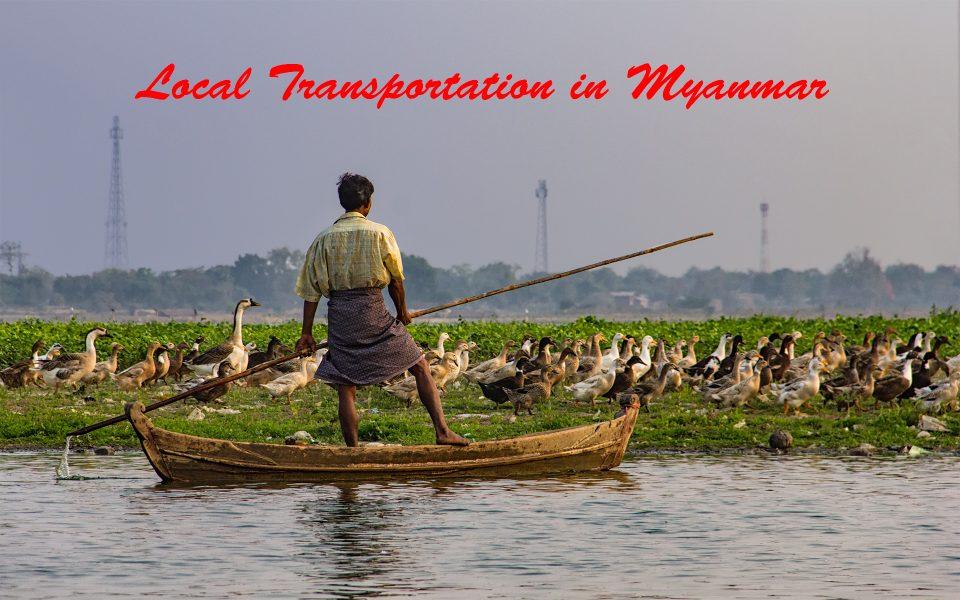 Local Transportation in Myanmar 01 - Gary Cawood