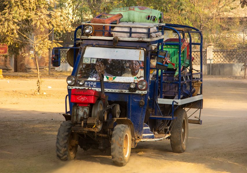 Local Transportation in Myanmar 04 - Gary Cawood
