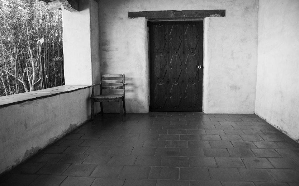 Carmel Mission Hallway - Dave Kent