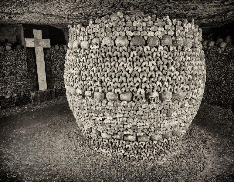Bone Column, Paris - Dennis Scott