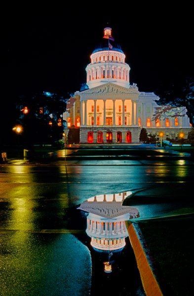 CA State Capitol 1992 - Robert Benson