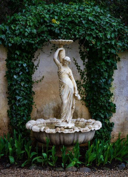 Statue Inside of a Fountain - Laura Berard