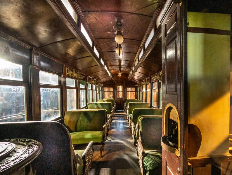 Rail Car - Jim Berger