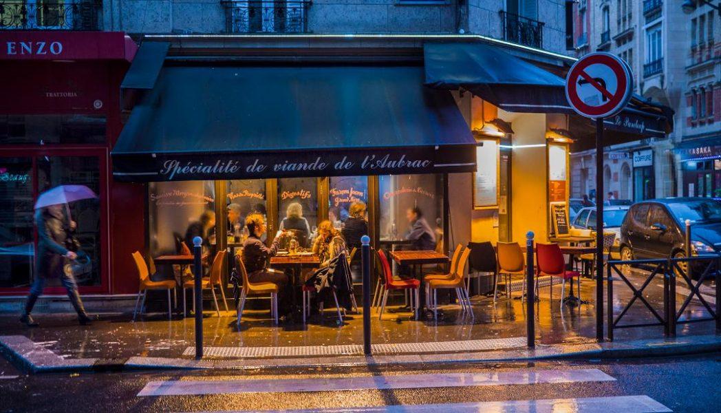 Paris Cafe - Bob Hubbell