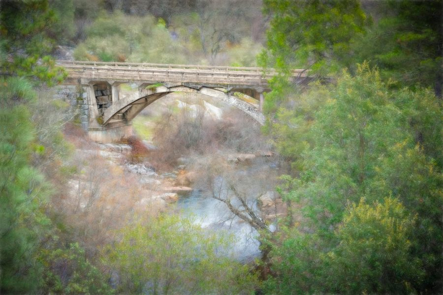 Old Mount Aukum Bridge Road - Lucille Van Ommering