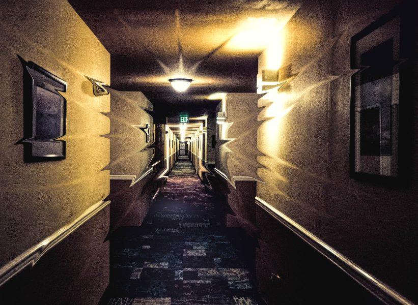 Fading Hall Way - Irene Berger