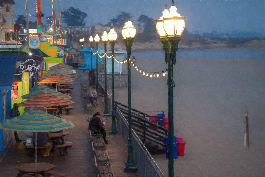 Santa Cruz Boardwalk - Irene Berger