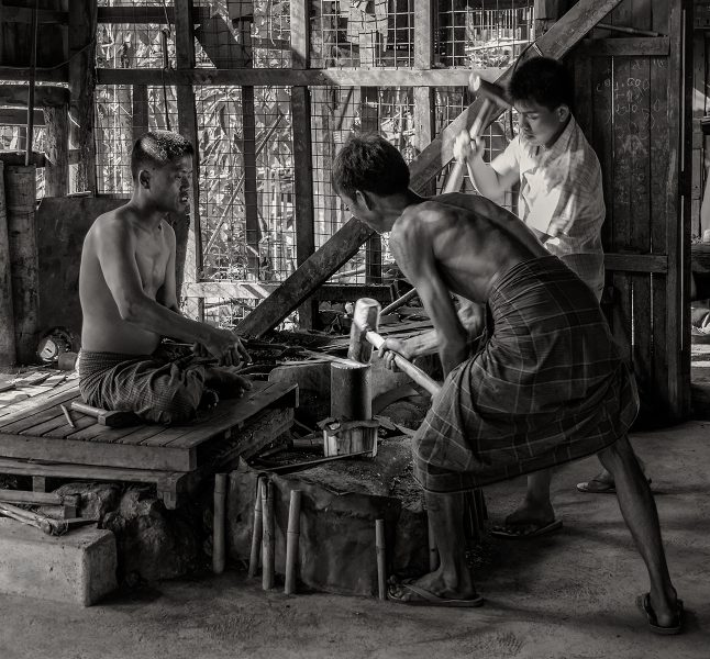 Foundry In Myanmar - Gary Cawood