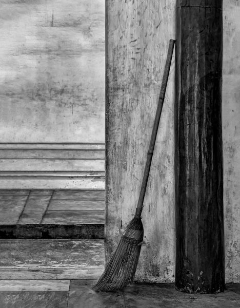 Myanmar Temple Broom - Gary Cawood