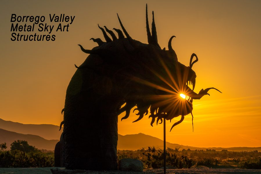 Borrego Valley Metal Sky Art Structures-01 - Don Goldman